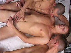 Naughty cuties of vital age taking dongs in face hole