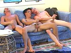 Six naughty homosexuals having a dear time of love