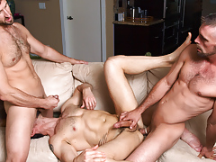 Dean Monroe gets the intact treatment from Joe & CJ Parker