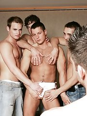 Glen Santoro::Julian Vincenzo::Adam Kubick::Jose Scott::Joe Donovan in Gay guy XXX Photos