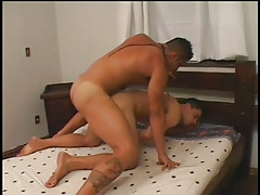 Latin cock coed screwed by bulky hunk in 2 episode