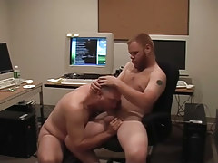 Matured gays pooch mcgee and david marx find office place to group sex in 1 episode