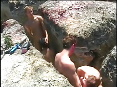 Hot twink dia fucking in scenic location in 1 episode