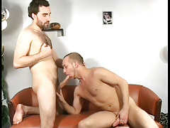 Horny gay studs suck each other off in 3 movie scene