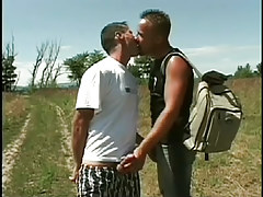 Two hot gay fuck hook ups in the woods in 2 episode
