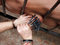 Draining A Slave Boys Cock - Reece Bentley And Sebastian Kane