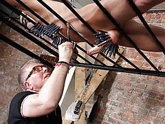 Draining A Slave Boys Rod - Reece Bentley And Sebastian Kane