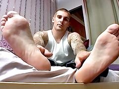 Sock On Cock Fun With Evan - Evan Heinze
