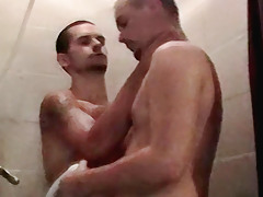 Showering Str8 Boys - Brian And Blaze
