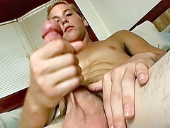 Amateur Straight jock Wakes Up and Jerks Off - Puppy