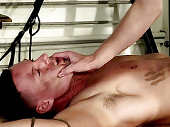 Made To Engulf His First Cock - Theo Reid And Aiden Jason
