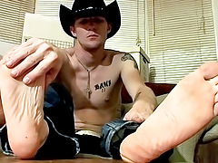 Cowboy Feet And Pecker Stroking! - Ty And Lee Barstow