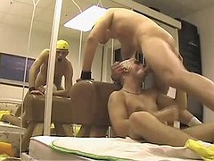 Amateur but astonishingly horny fellow gets pushed principal time