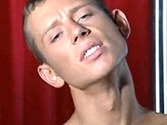 Spoiled twinks play oral-job show in kinky sex theatre