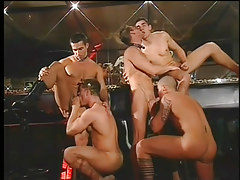 Gay club drinking all both turns likes big dong orgy in 2 video