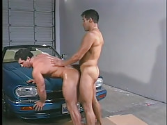 Gay muscle males have clammy anal in garage in 5 episode