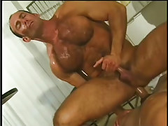 Sticky navy guy getting taste of cock in 7 clip