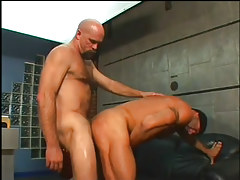 The boss acquires a stiff ass fucking in 4 episode