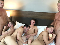 American Muscle Hunks & Jason Sparks Live Number forth of July Special