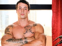 Ty is a massive chunky dude sub with a stupendous toned muscle body auxiliary in with some ink as well