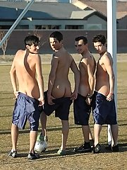 Gay soccer team way on a field in  unbelievable pictures
