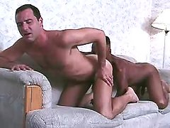 Black gay taking priceless anal reaming