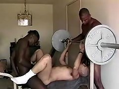 Black man-lover spreads for enormous knob