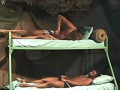 Black pride penetrates inflexible wazoo