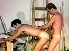 Lustful gay hunk adores it fast