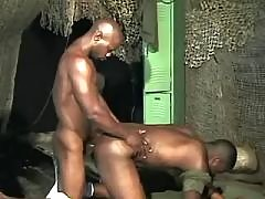 Black faggot taking nice anal reaming