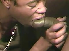 Gay presses knob in fixed ebon break