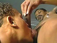Nasty black homosexual guys assfucking heavily