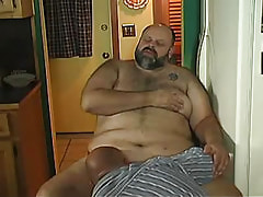 Old gay sucks ripe stick