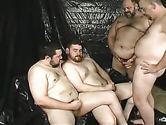 Mature faggot cock cream by turns on male