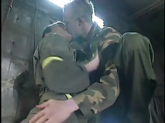 Horny man-lover twinks play with tongue in cellar