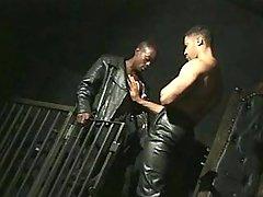 Black fellow getting nastily pounded