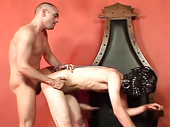 Twink Jaysin is tied-up and flogged by his commander