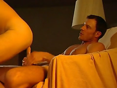 Hot fellow rides hard dick