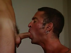 Mature twink throats guys appetizing dick