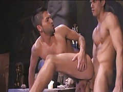 Beautiful Arabian man-lover penetrates in companion behind