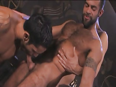 Hairy Arabian faggots gorge jocks in pyramid