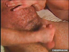 Mature  gay cums