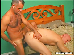 Mature bear gay humps dilf in doggy style