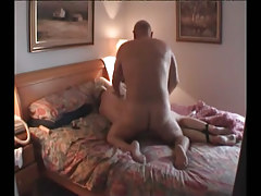 Fat full-grown homosexual guys fuck in daybed