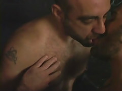 Hairy gay men mouth to mouth