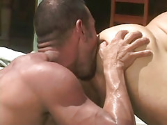 Bear dilf licks out inflexible gentlemen outlet